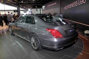 Detroit 2016: Hyundai schafft mit dem G90 eine neue Marke. © spothits/Auto-Medienportal.Net / Manfred Zimmermann