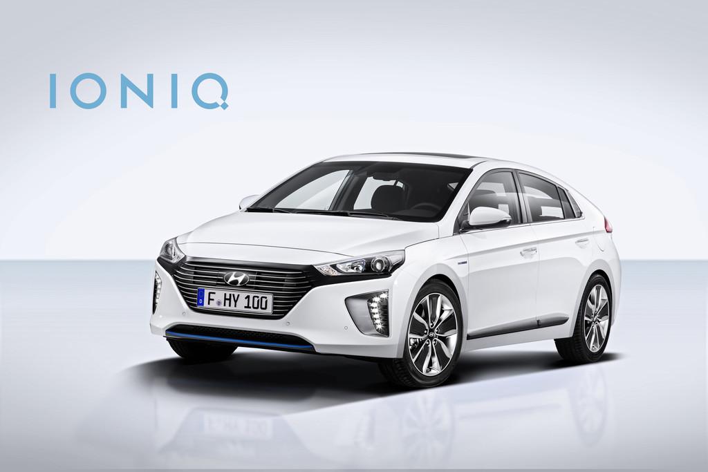Hyundai Ioniq kommt als Hybrid und als reines Elektroauto. © spothits/Auto-Medienportal.Net/Hyundai