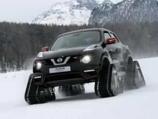 Der Nissan Juke wird zum Pistenschreck. © spothits/Auto-Medienportal.Net/Busse
