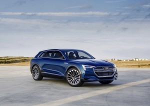 Audi bereitet Elektro-Großserienproduktion vor. © spothits/Auto-Medienportal.Net/Audi