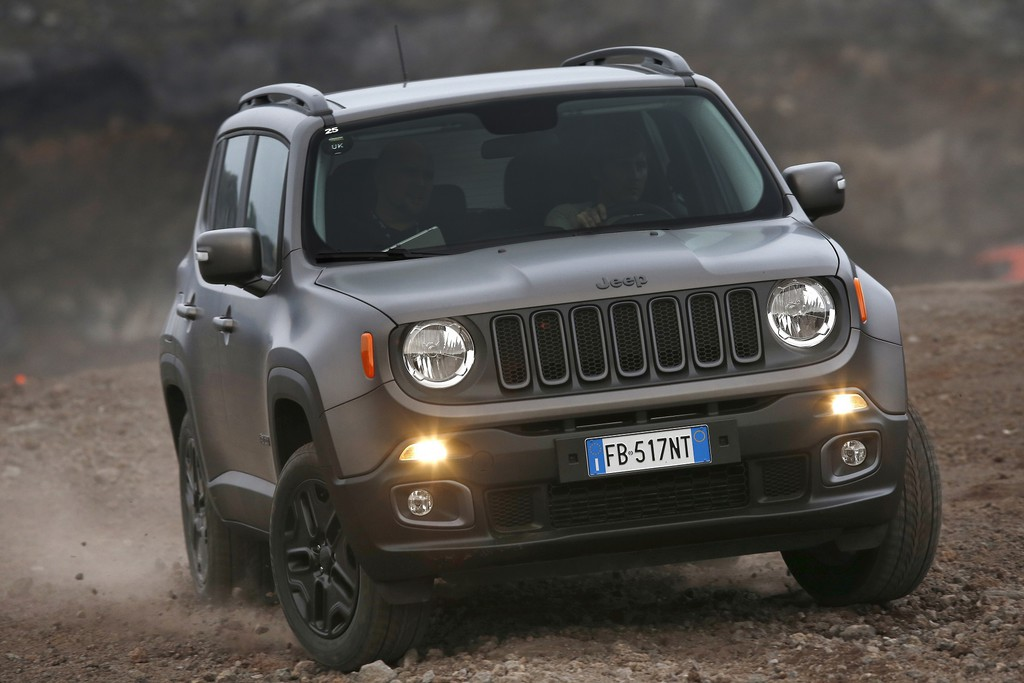 "Jeep bringt Renegade Sondermodell ""Night Eagle"" . © spothits/Auto-Medienportal.Net/Jeep"