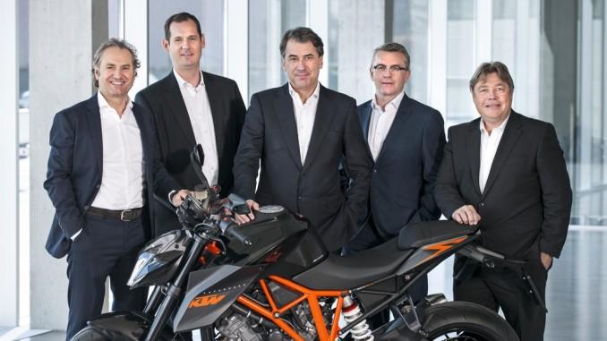 KTM verkaufte über 180 000 Motorräder. © spothits/Auto-Medienportal.Net/KTM