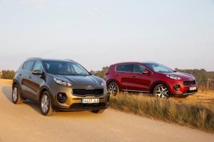Kia Sportage: Karrieretyp. © spothits/Auto-Medienportal.Net/Kia
