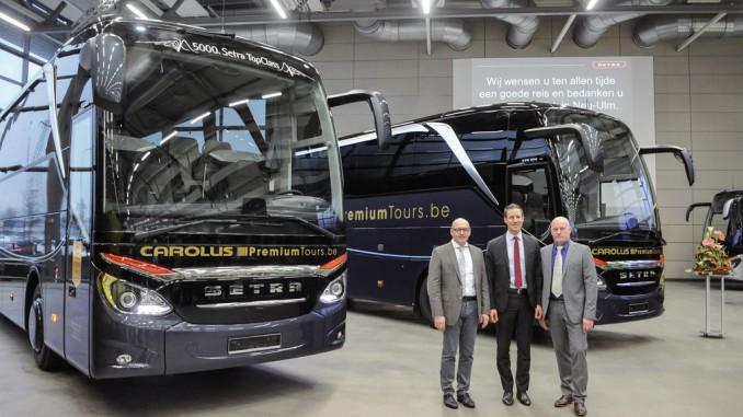 Setra liefert 5000sten Top Class aus. © spothits/Auto-Medienportal.Net/Daimler
