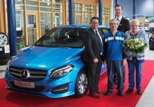 "Mercedes-Benz ""Junge Sterne"" übergibt 750 000stes Fahrzeug. © spothits/Auto-Medienportal.Net/Daimler"