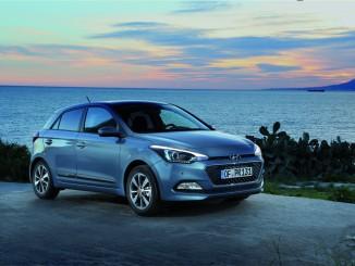 Hyundai bietet Tom-Tom Live Services für i20. © spothits/Auto-Medienportal.Net/Hyundai