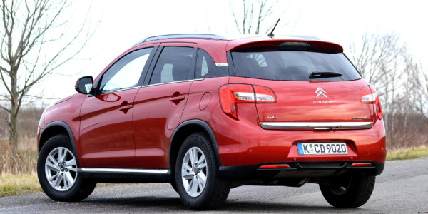 Test Citroen C4 Aircross Exclusive e-HDi 115 4WD. © spothits