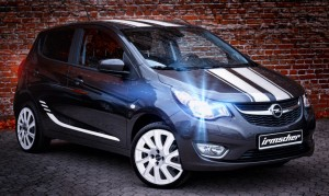 Irmscher bringt Opel Karl als limitiertes Sondermodell. © spothits/Irmscher