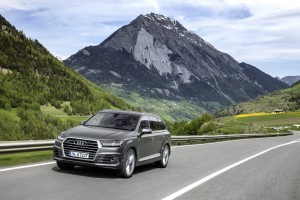 Test Audi Q7: Spaceglider next generation. © spothits/Audi