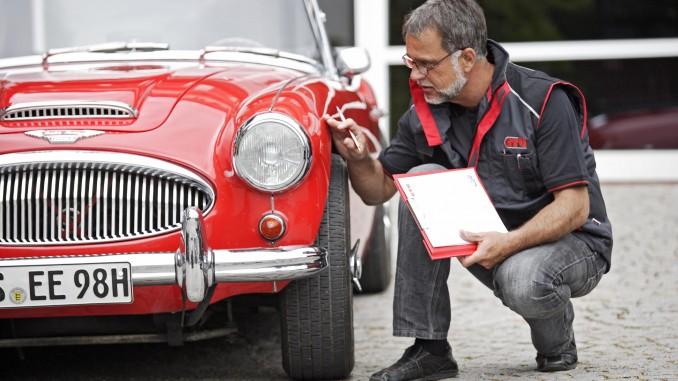 GTÜ stellt seinen Oldtimerservice vor. © spothits/Auto-Medienportal.Net/GTÜ