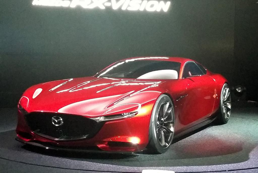 Mazda RX-Vision erstmals in Europa   spothits
