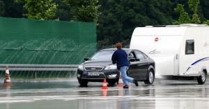 Aber sicher: Fahrtraining mit Reisemobil und Caravan. © spothits/Auto-Medienportal.Net/CIVD