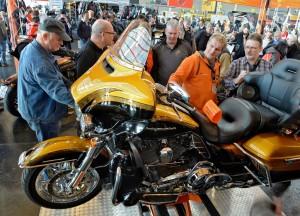 Motorradwelt Bodensee mit Rekorden. © spothits/Auto-Medienportal.Net/Messe Friedrichshafen