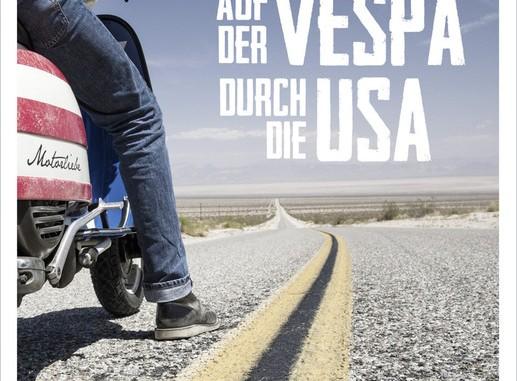 Im Bücherregal: Drei Vespa im Harley-Land. © spothits/Auto-Medienportal.Net/Delius-Klasing-Verlag