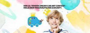 Toyota Dream Car Contest: Kinder malen ihr Traumauto. © spothits/Auto-Medienportal.Net/Toyota
