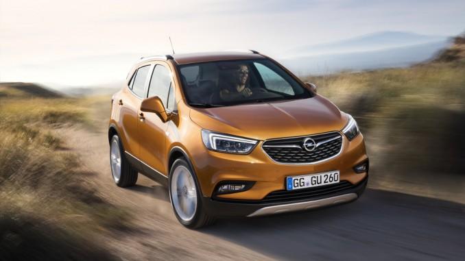 Genf 2016: Aus Opel Mokka wird Mokka X. © spothits/Auto-Medienportal.Net/Opel