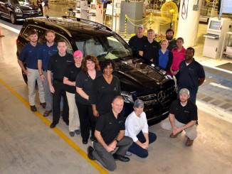 Mercedes-Benz startet Produktion des GLS. © spothits/Auto-Medienportal.Net/Daimler