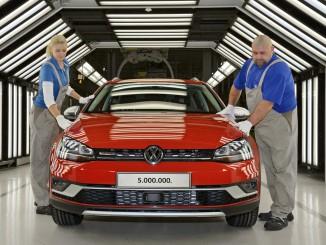 25 Jahre Volkswagen Golf aus Zwickau. © spothits/Auto-Medienportal.Net/Volkswagen