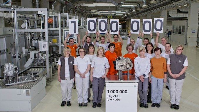 Skoda produziert einmillionstes Doppelkupplungsgetriebe. © spothits/Auto-Medienportal.Net/Skoda
