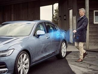 Volvo will Autoschlüssel durch Smartphone ersetzen. © spothits/Auto-Medienportal.Net/Volvo