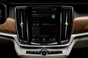 Volvo integriert Spotify ins Auto. © spothits/Auto-Medienportal.Net/Volvo
