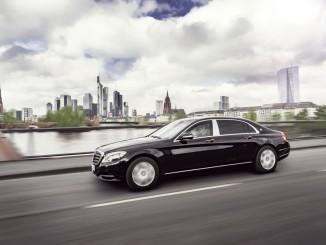 Gut geschützt: Mercedes-Maybach S 600 Guard. © spothits/Auto-Medienportal.Net/Daimler