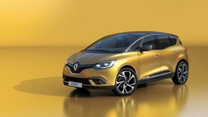 Genf 2016: Neuer Renault Scénic lehnt sich an den Espace an. © spothits/Auto-Medienportal.Net/Renault