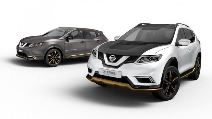 Genf 2016: Nissan spielt mit Qashqai und X-Trail. © spothits/Auto-Medienportal.Net/Nissan