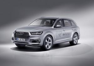 Audi Q7 E-tron 3.0 TDI Quattro ab März bestellbar. © spothits/Auto-Medienportal.Net/Audi