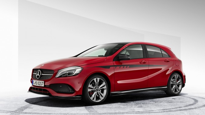 AMG-Zubehör für A-Klasse verfügbar. © spothits/Auto-Medienportal.Net/Daimler