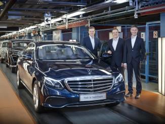 Erste neue E-Klasse rollt vom Band. © spothits/Auto-Medienportal.Net/Daimler