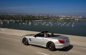 Mercedes-Benz SL: Überlegenheit auf dem Boulevard. © spothits/Auto-Medienportal.Net/Daimler