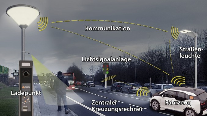 Forschungsprojekt zur Vernetzung der Infrastruktur gestartet. © spothits/Auto-Medienportal.Net/RWTH Aachen