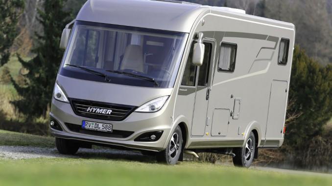 Weltpremiere Hymermobil B-Klasse DynamicLine. © spothits/Hymer