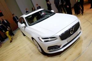Genf 2016: Volvo S90 heimst Designpreis ein . © spothits/Auto-Medienportal.Net / Manfred Zimmermann