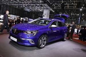 Genf 2016: Renault Mégane Grandtour steckt 2,77 Meter weg. © spothits/Auto-Medienportal.Net/Euromediahouse