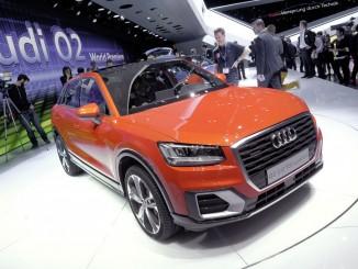 Genf 2016: Der kleinste Q von Audi. © spothits/Auto-Medienportal.Net/Manfred Zimmermann