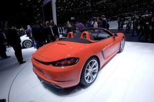 Genf 2016: Porsche stellt den Boxster um. © spothits/Auto-Medienportal.Net/Manfred Zimmermann