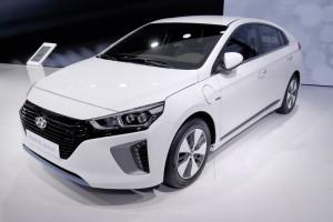 Genf 2016: Hyundai Ioniq dreifach elektrisch. © spothits/Auto-Medienportal.Net/Manfred Zimmermann