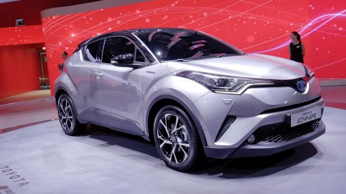 Genf 2016: Toyota C-HR ist startklar. © spothits/Auto-Medienportal.Net/Manfred Zimmermann