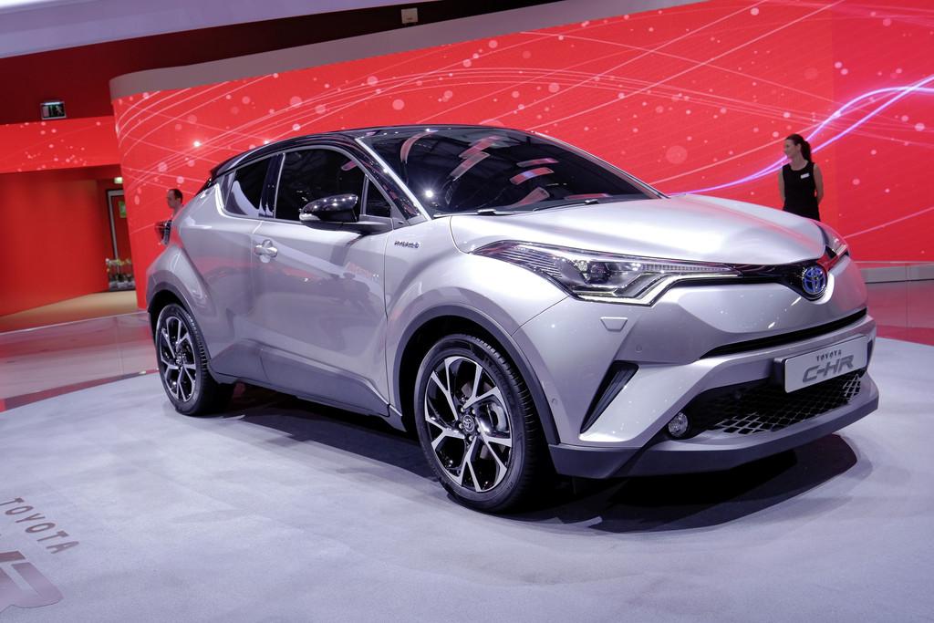 Genf 2016: Toyota CHR ist startklar. © spothits/AutoMedienportal