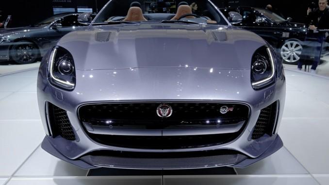 Genf 2016: Beim Jaguar F-Type geht jetzt noch mehr. © spothits/Auto-Medienportal.Net/Manfred Zimmermann