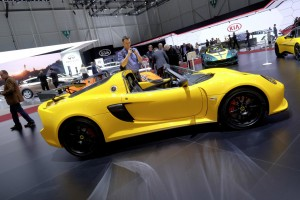 Genf 2016: Leichter – schneller – Lotus. © Auto-Medienportal.Net/Manfred Zimmermann