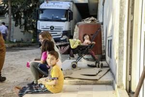Daimler-Hilfskonvoi erreicht Flüchtlingslager in die Südtürkei. © spothits/Auto-Medienportal.Net/Daimler