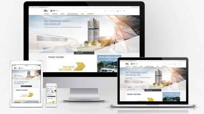 BMW mit neuem Webauftritt. © spothits/Auto-Medienportal.Net/BMW