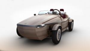 Toyota Setsuna Concept besteht in vielen Teilen aus Holz. © spothits/Auto-Medienportal.Net/Toyota