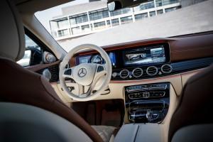 Mercedes-Benz E-Klasse: Mit Verwöhn-Aroma. © spothits/Daimler/Dieter Rebmann