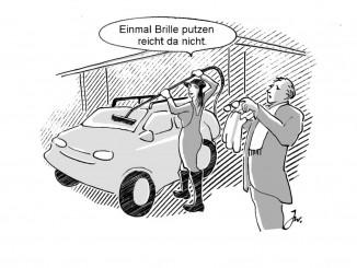 Ratgeber: Auch Autos brauchen einen Frühjahrsputz. © spothits/Goslar Institut