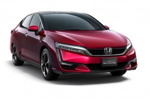 Verkaufsstart des Honda Clarity Fuel Cell in Japan. © spothits/Honda