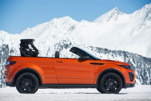 Range Rover Evoque Cabrio: Spektakulär. © spothits/Jaguar Land Rover/Auto-Medienporta